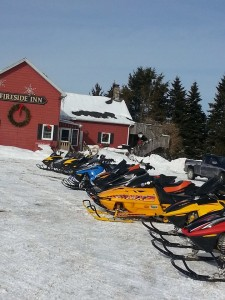 That's a whole lotta sleds!